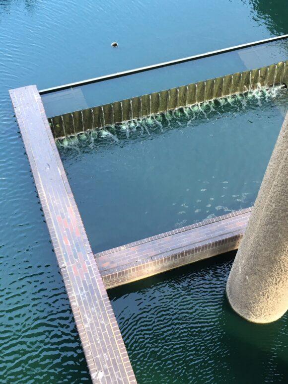 Barbican basin