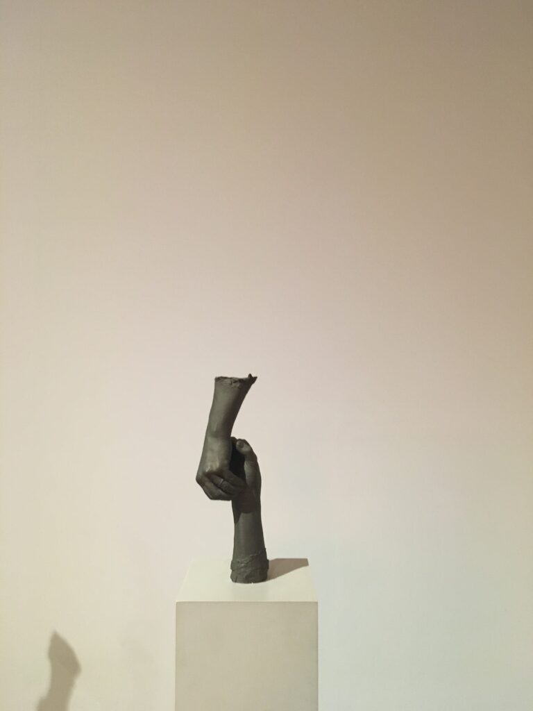Piece from the Tate Modern Bruce Nauman show that's now on.
