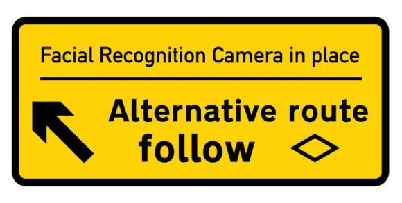 Alternative signage for the era of GDPR