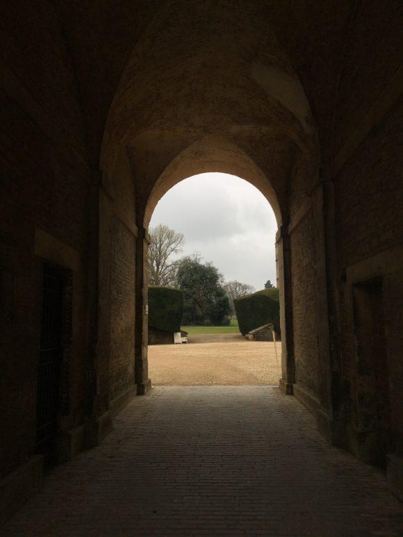 Door to Rousham gardens.