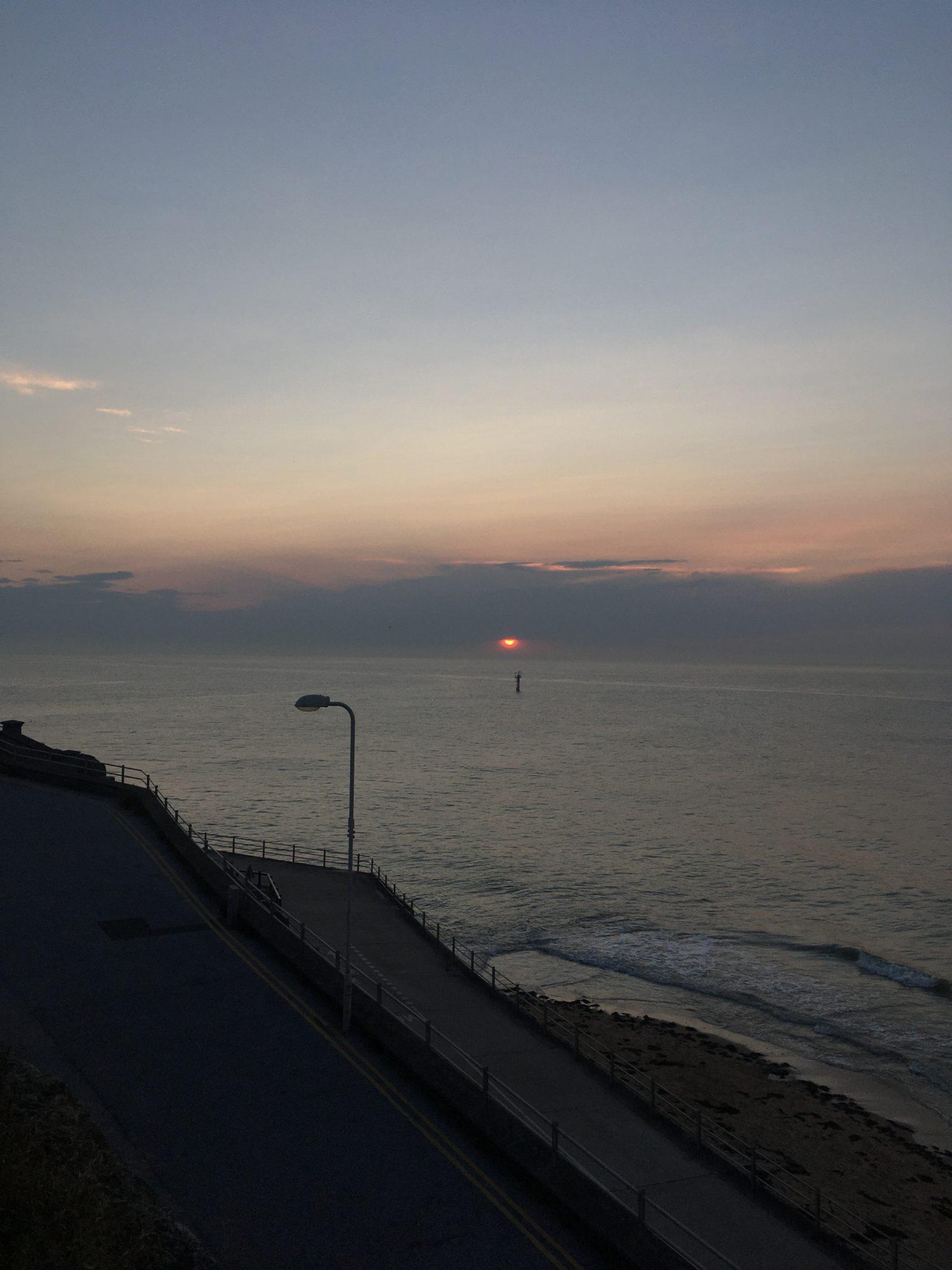 The coast in Margate
