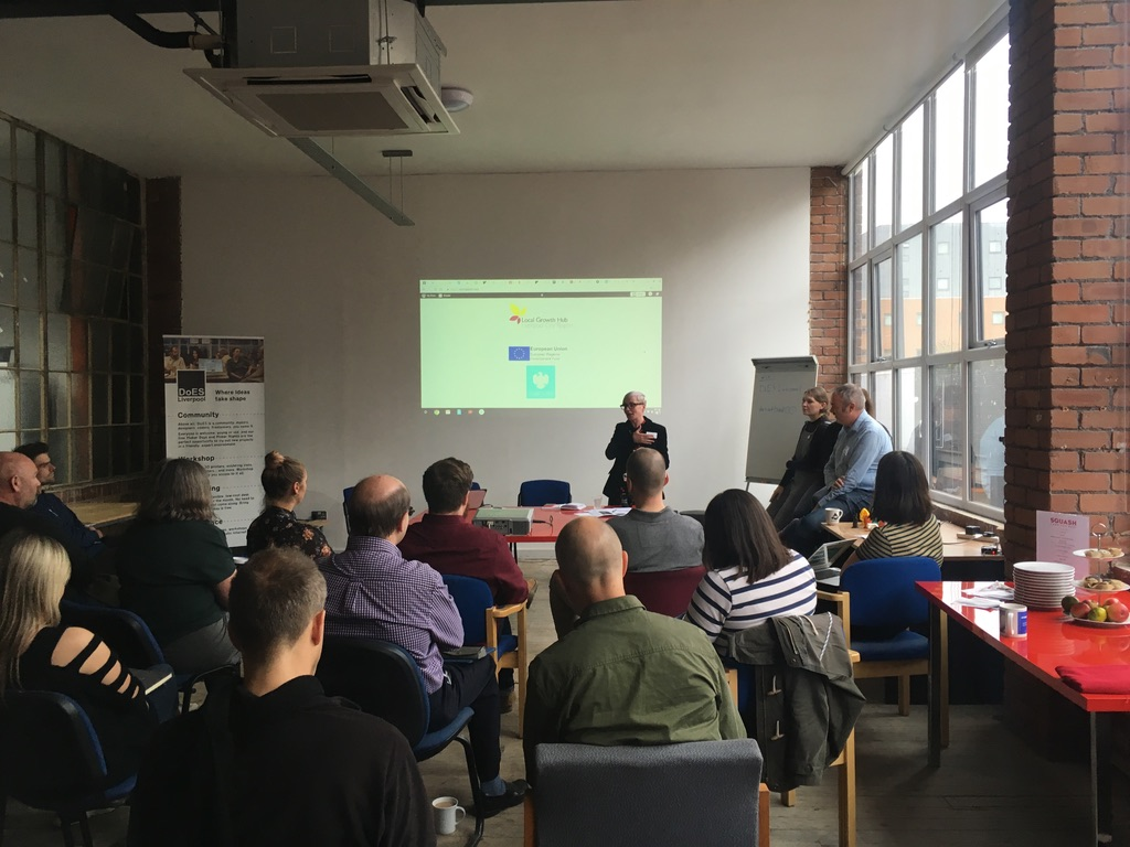 Making it conference in Liverpool in 2018.